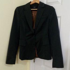 ⚡3/$20⚡ Grey striped blazer